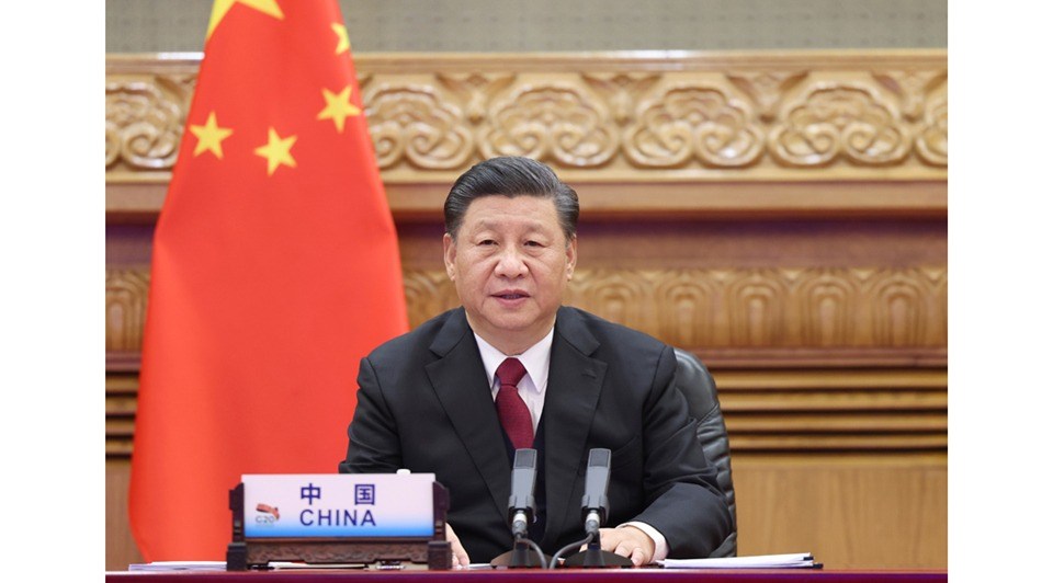 Xi expounds on sustainable development at G20 meeting:0