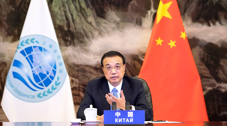 Premier Li attends 19th meeting of SCO member states' council of heads of government:1