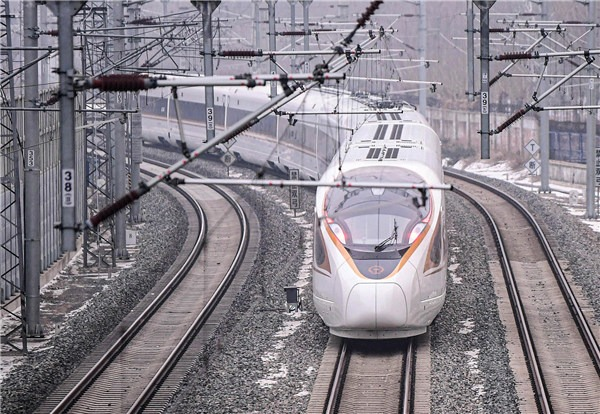 Beijing-Shenyang line opens after 6 years of construction:0