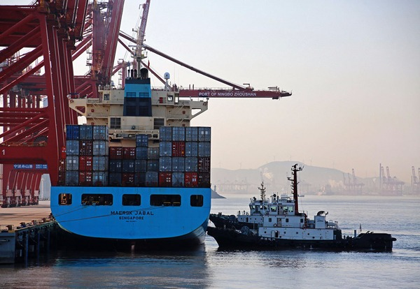 Zhoushan Port's throughput ranks first globally for 12th consecutive year:0