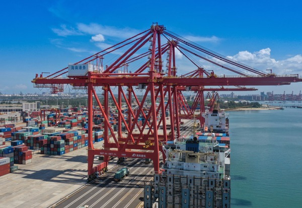 South China's Yangpu Port strives to become global transport hub:0