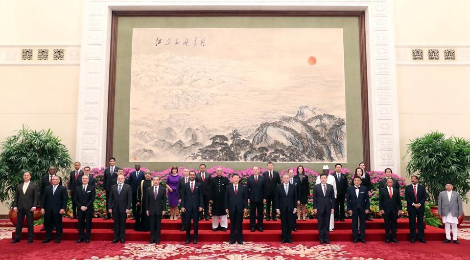 Xi receives credentials of 29 ambassadors:0