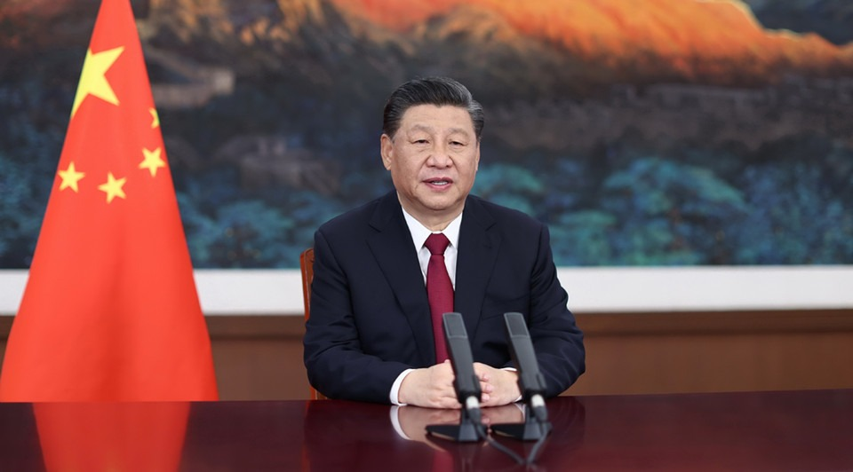 Xi calls for strengthening global governance at BFA annual conference:0