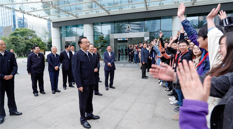 Premier wishes Chengdu talents happy work, life:1