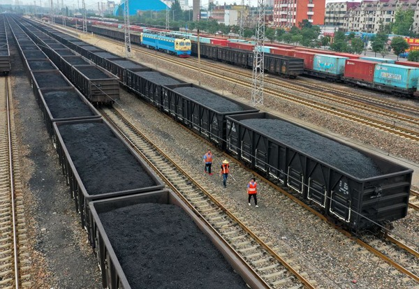 China's coal output up 6.4% in H1