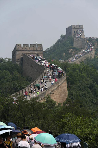 The Great Wall At Badaling in Beijing - Attraction in ... |Great Wall Badaling Weather
