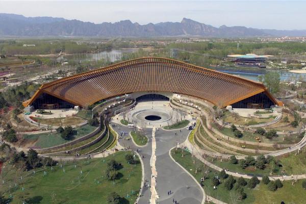 In pics: venues of 2019 Beijing International Horticultural