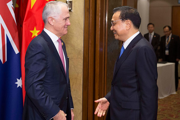 differences between china and australia