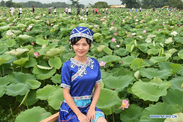 Lotus root industrial park attracts visitors in south china mightylinksfo